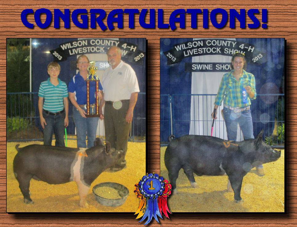 Heath Kimes: Class Winner & Reserve Grand Champion Cora Beth Key: 2nd in Class behind the Grand Champion