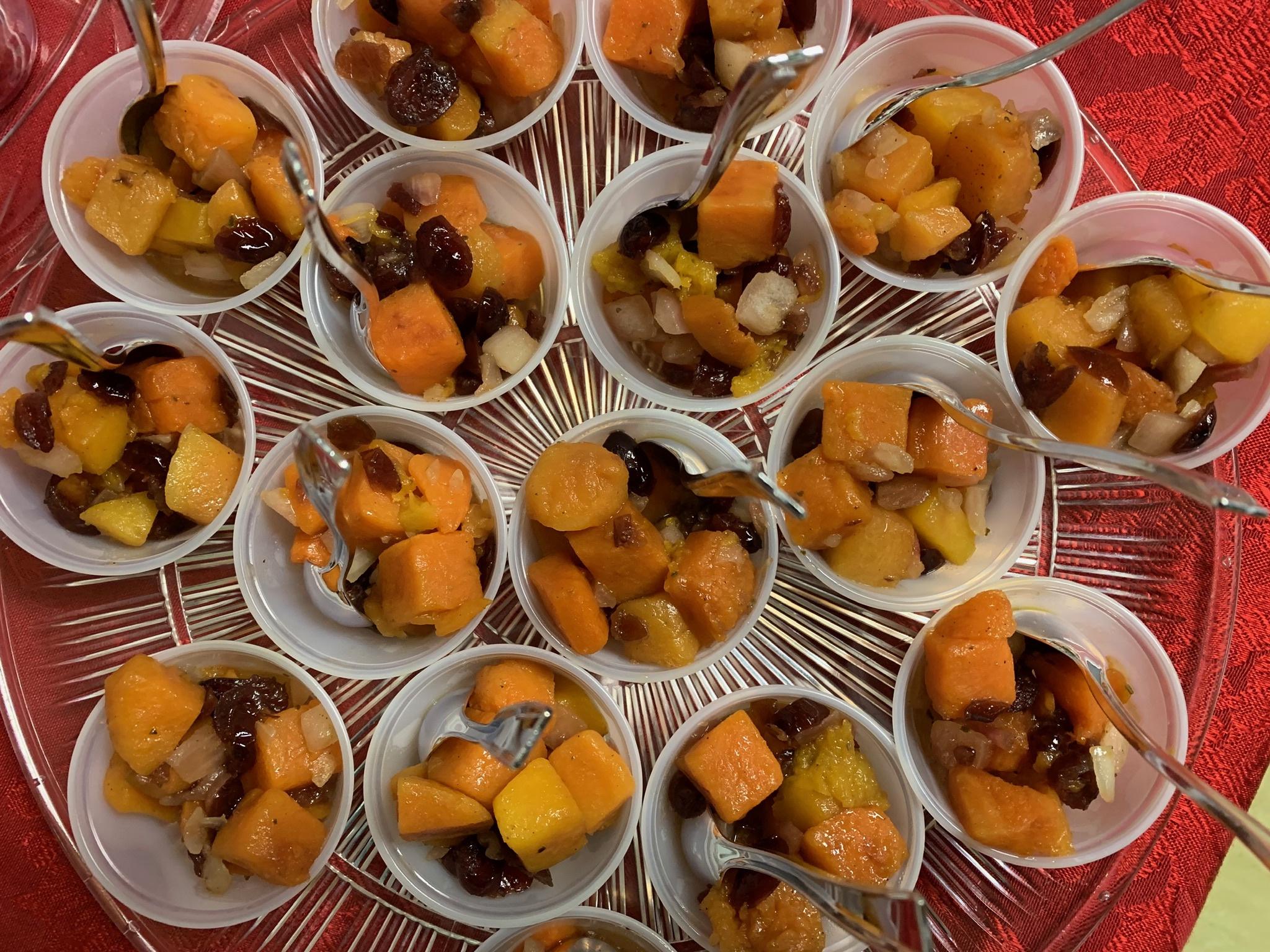 Healthy Holiday Tasting - December 2019