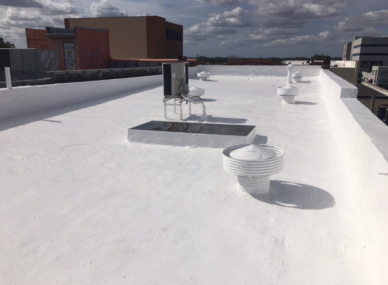 White Roof Deck