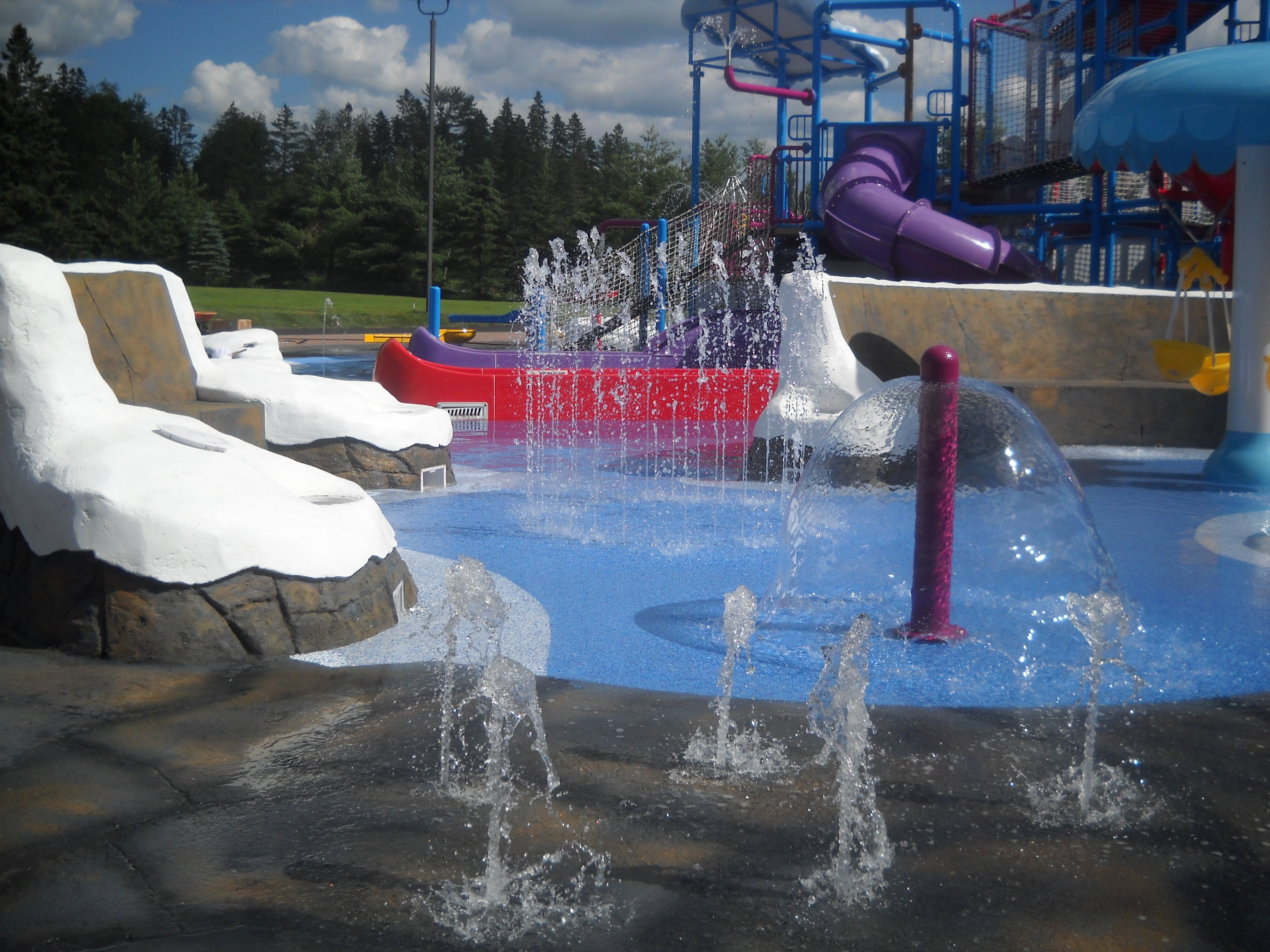 Splash Pad at Santa's Village