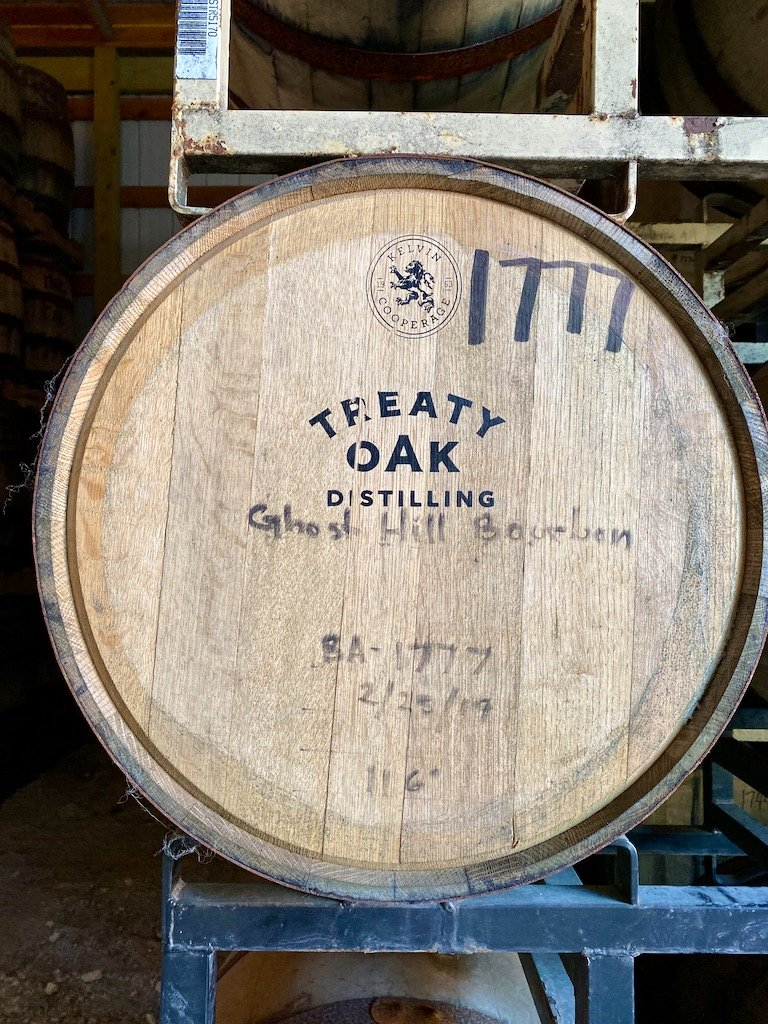 Treaty Oak Distilling Barrel