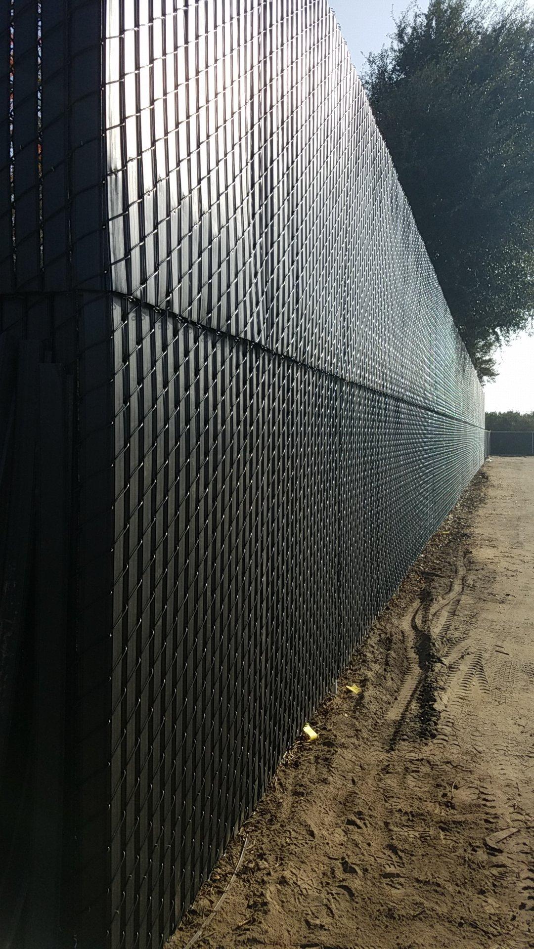 Black Chain-Link Fences