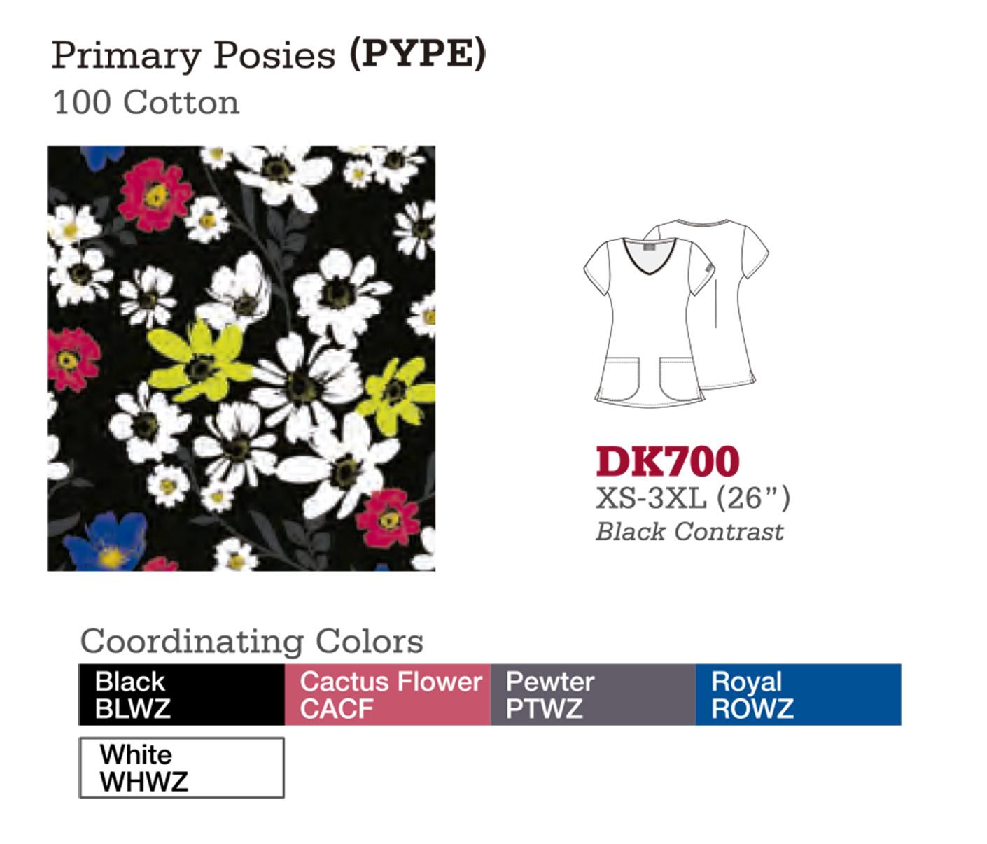 Primary Posies. DK700.