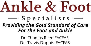 Ankle And Foot Specialists Dr Thomas Reed Conroe The Woodlands Tx