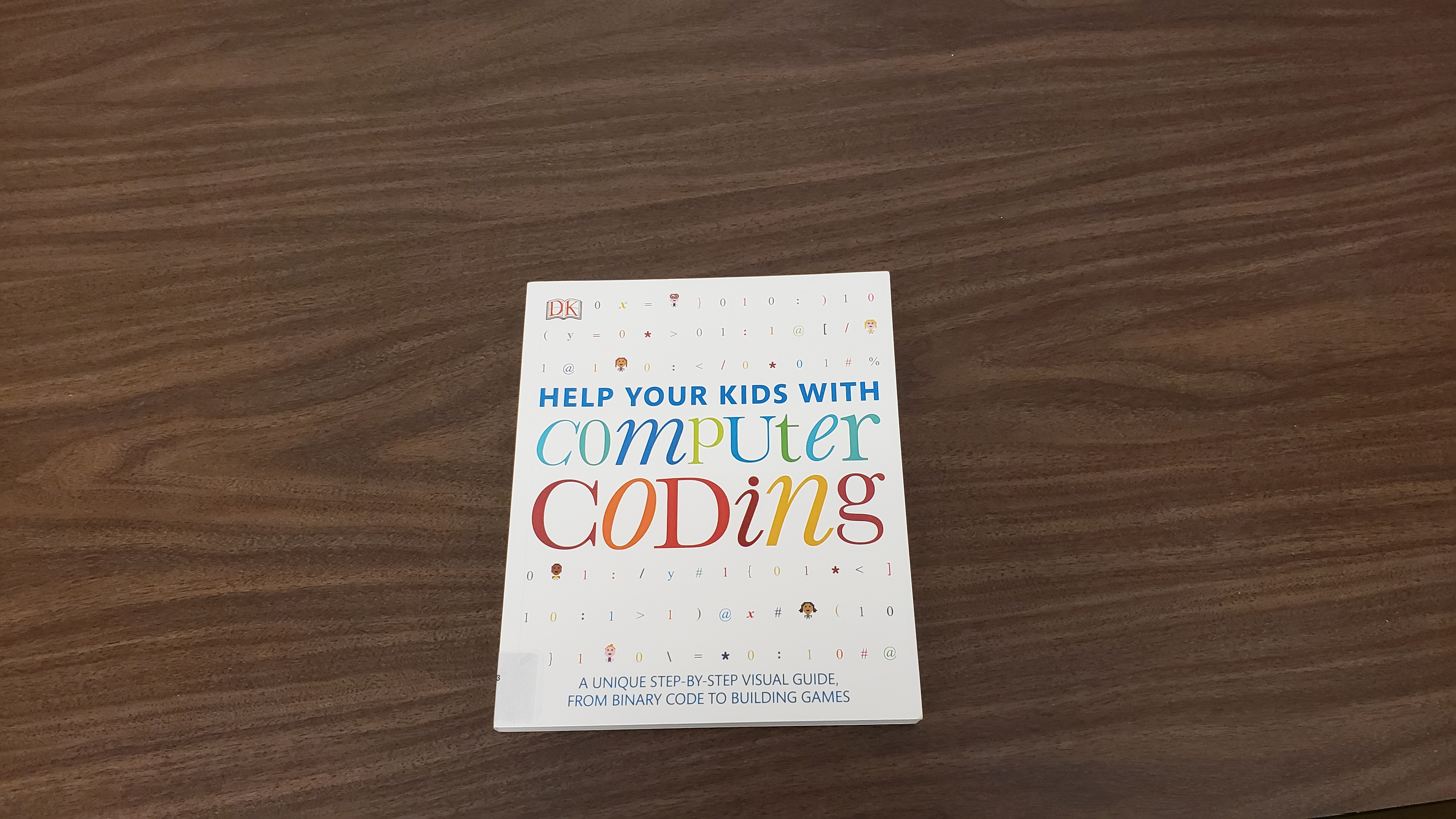In addition to games and robots, we have a book to help with learning to code.