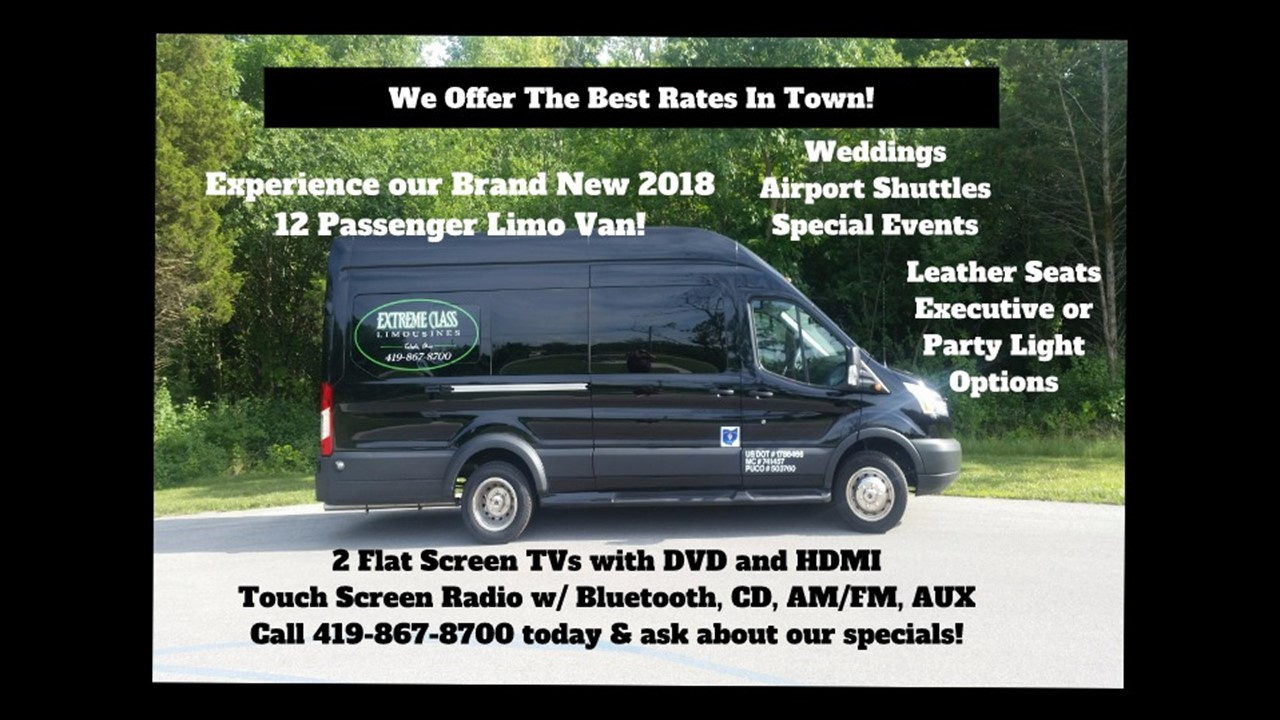 Brand New 2018 Limo Van