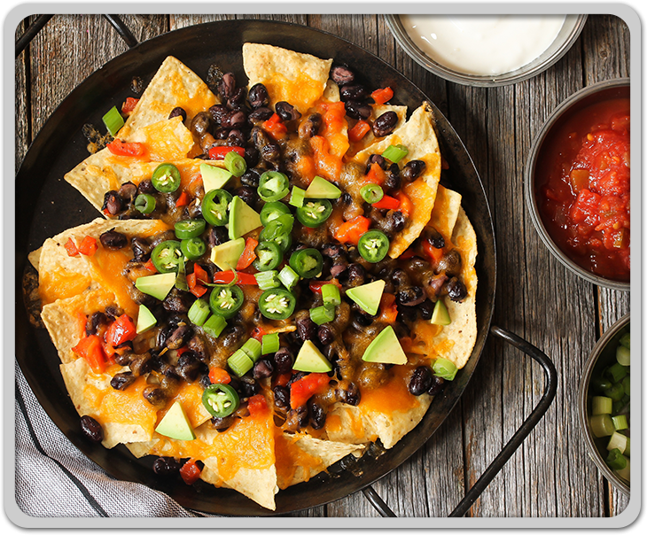 Classic Nachos with Tortilla Chips