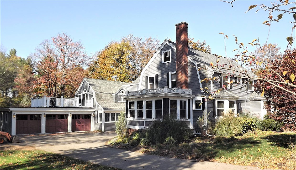 Remodeled House With Chimney