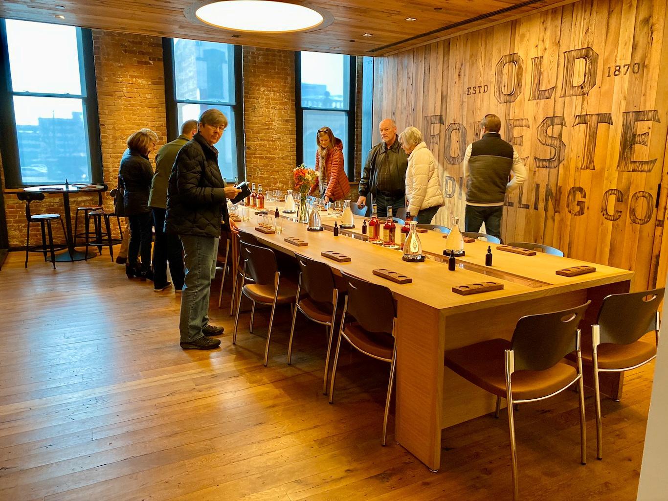 Tasting Room -Old Forester Distillery