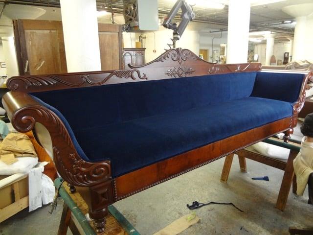 Empire Sofa, Covered