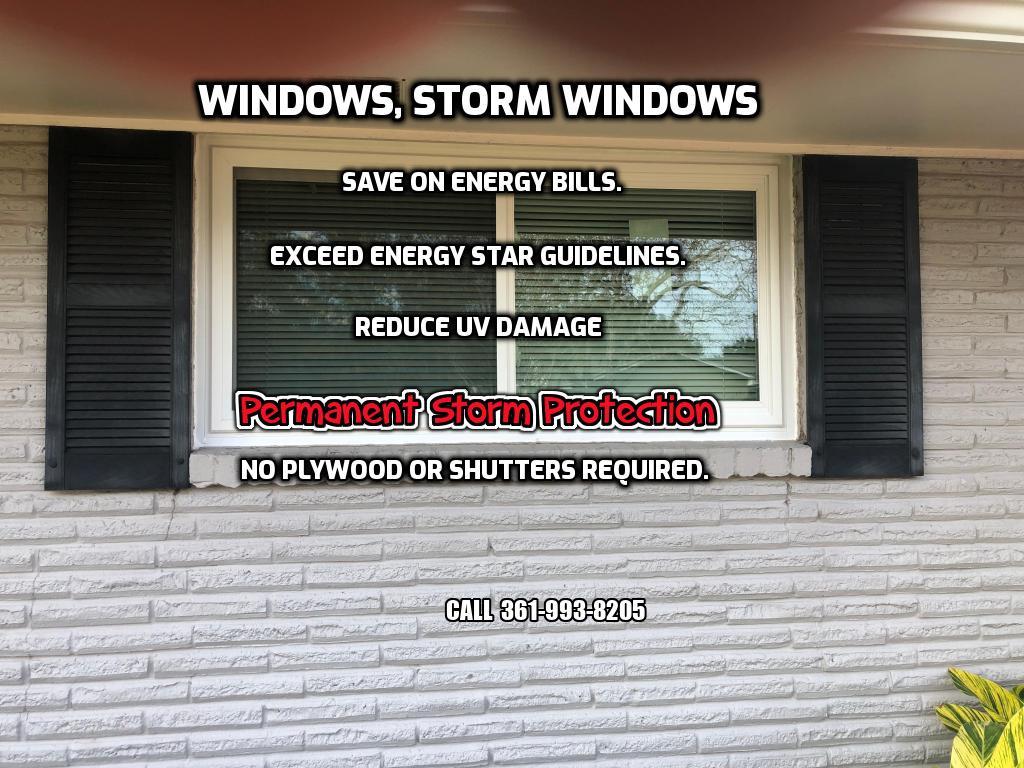 Corpus Christi Window Contractor Since 1988: Window replacement - Hurricane windows