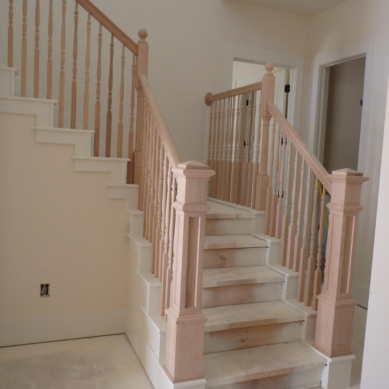 Wooden Stairwell 3
