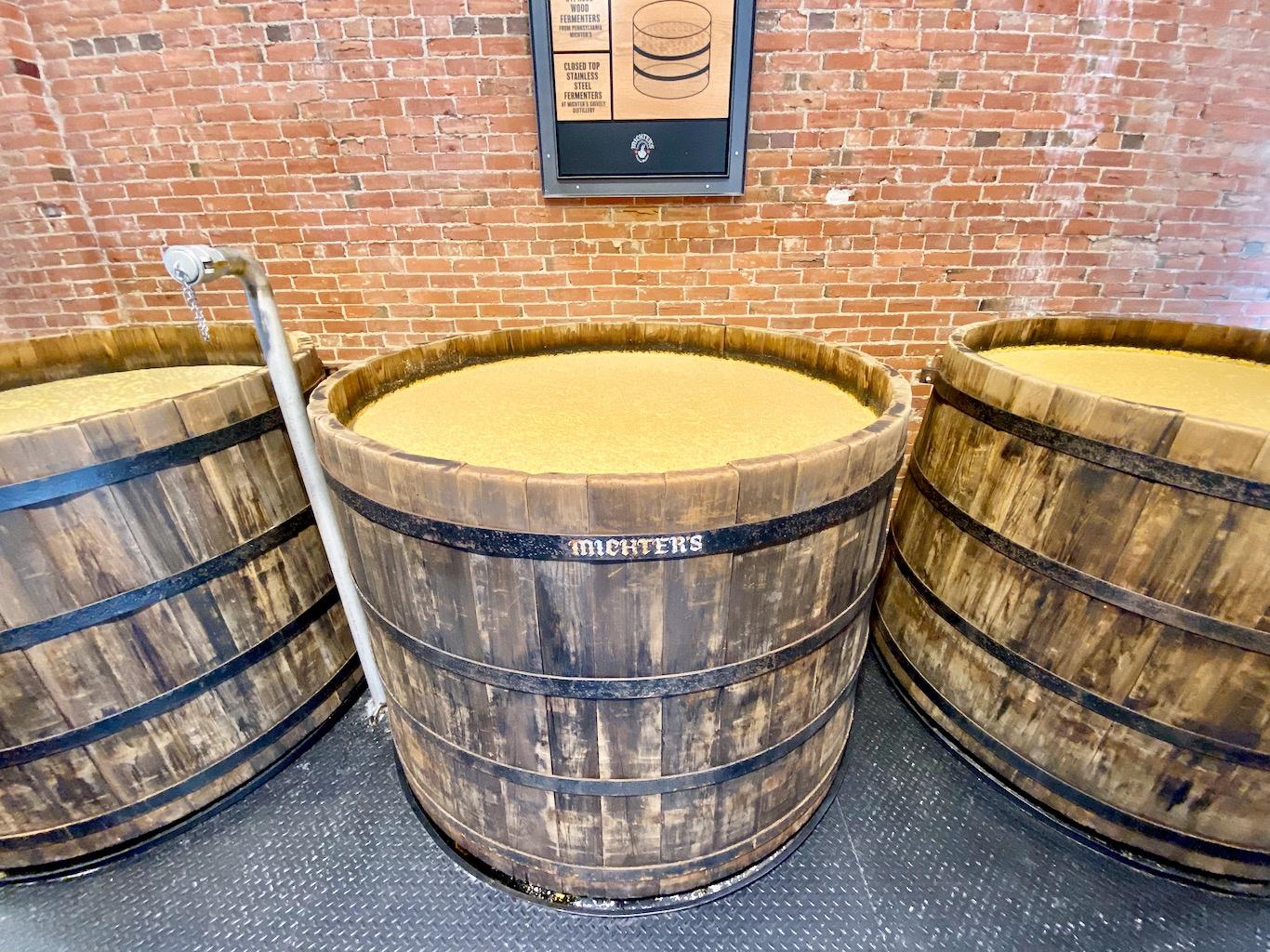Cypress Fermenters - Michter's Distillery