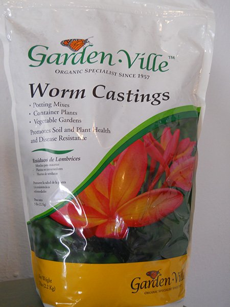 Gardenville worm castings