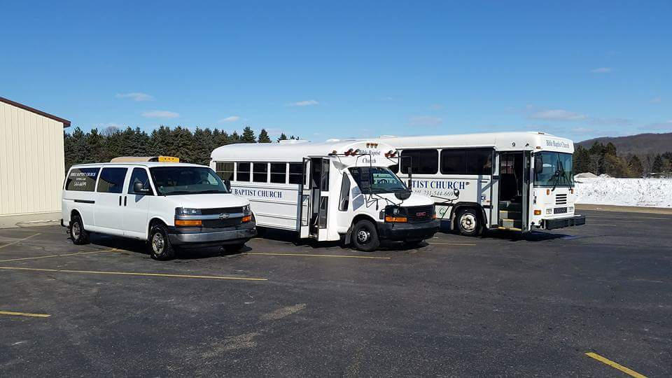 BBC Bus Ministry Fleet