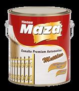 Esmalte Direto na Ferrugem Maza Esmalte Sintético  Metálico Maza