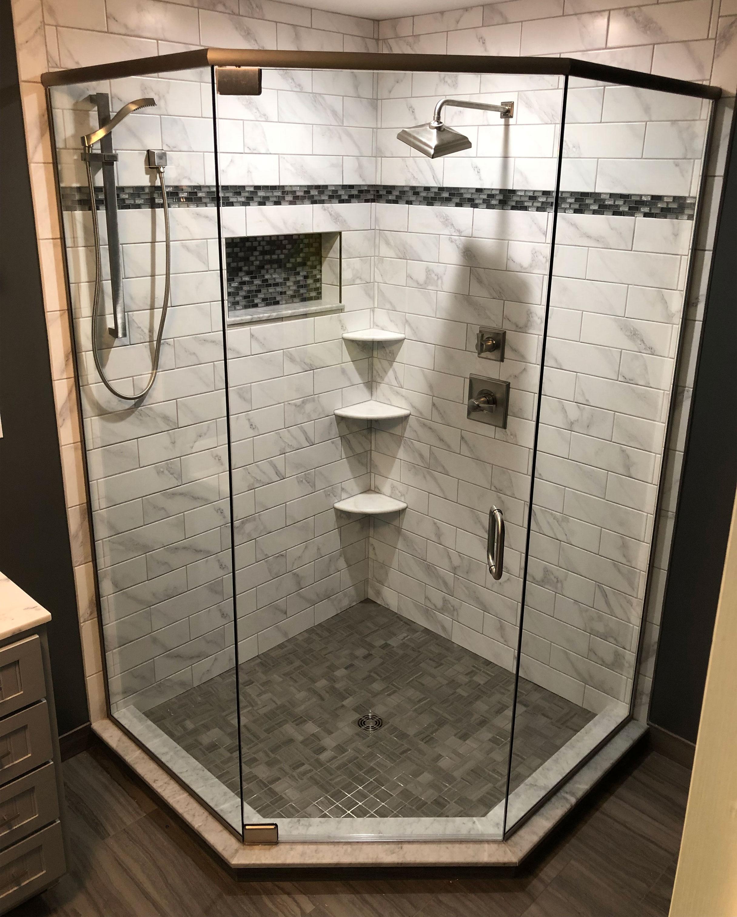 Elegant Shower Enclosure