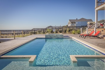 Gorgeous outdoor swimming pool