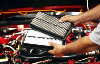 Engine Air Filter(s) Inspection
