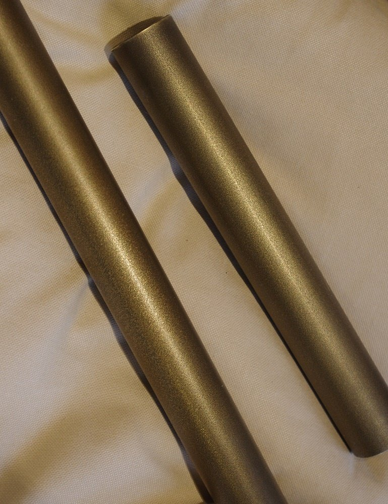 Brass finish veneer aged sandcast AM.4 Artistic Metals