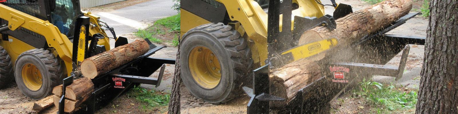 Log Cutting Process