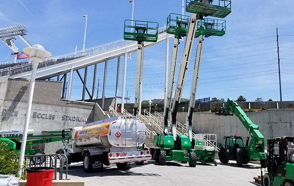 Ongoing Stadium Construction