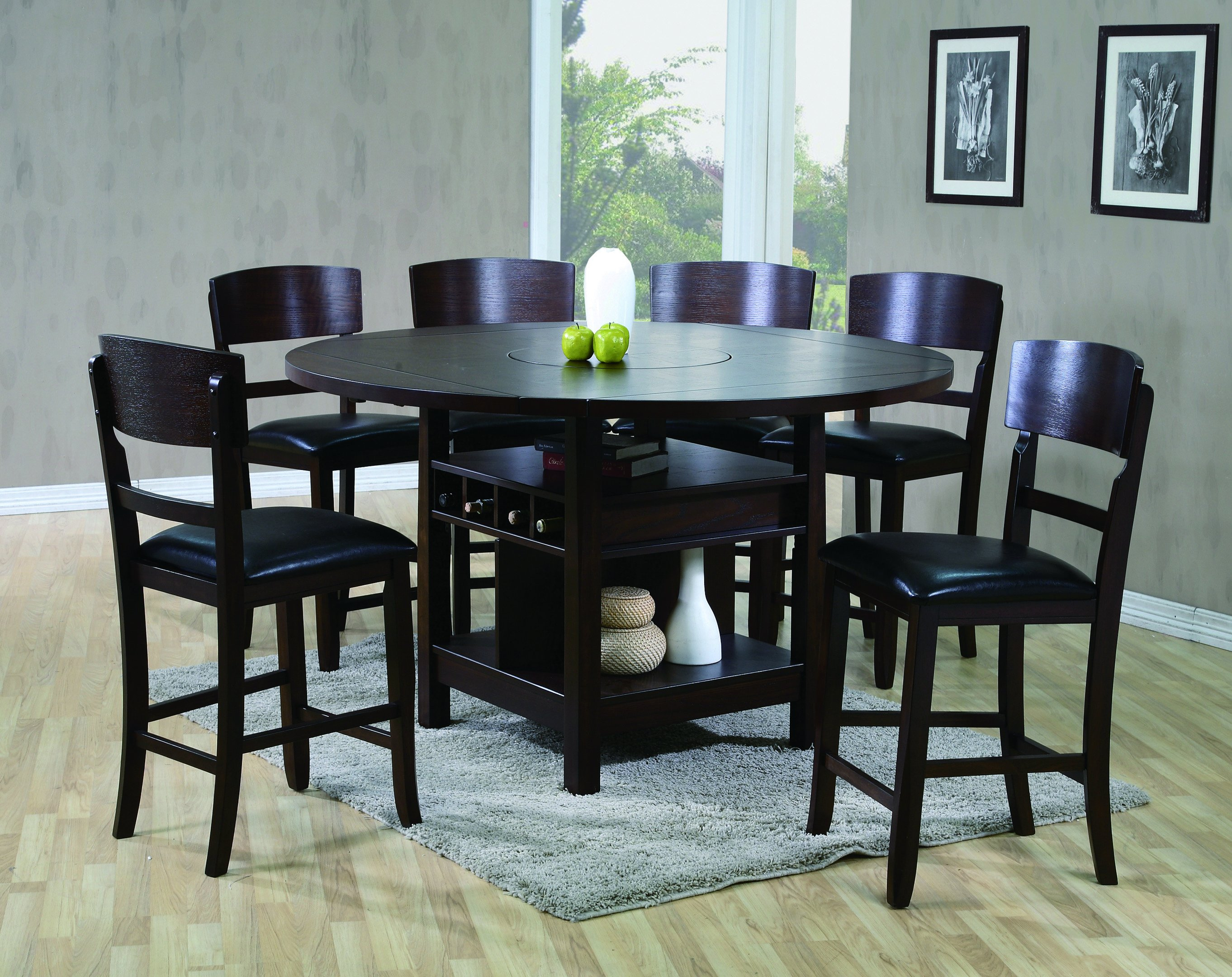 2849 Conner counter dining set