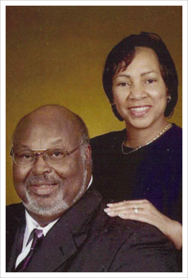 Picture of pastor and his wife||||