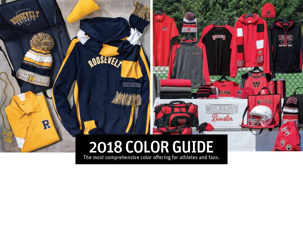 Team Color Guide