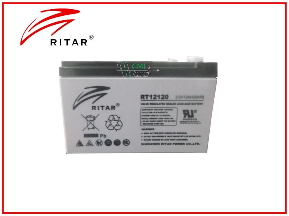 batería ritar 12120