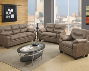 8800 Mocha Sofa, Love Seat