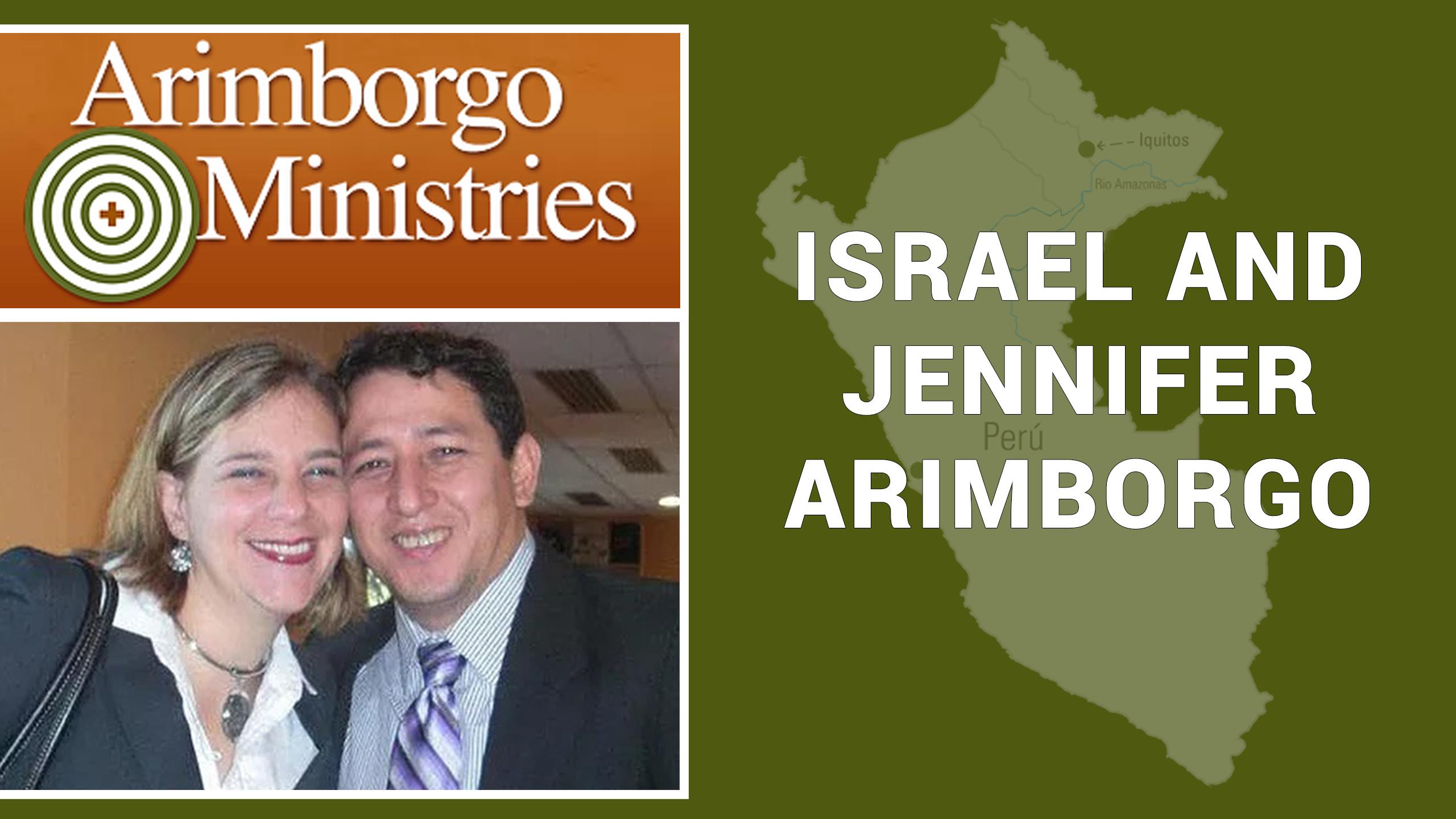 Israel and Jennifer Arimborgo will be with us Sunday, Nov 17 at 10:15 AM.