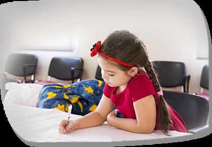 Kid Is Writing