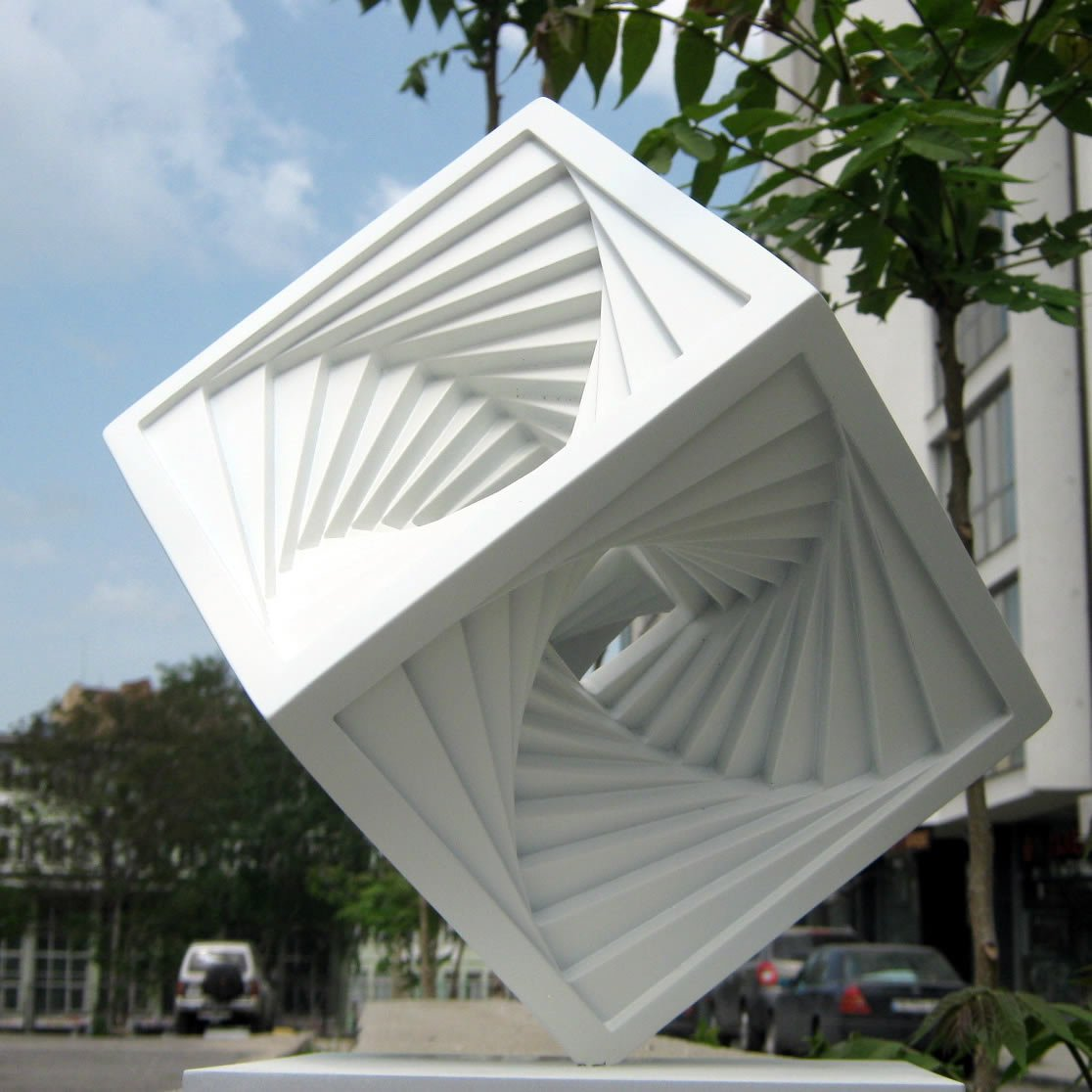 Spiralcube by Radoslav Sultov