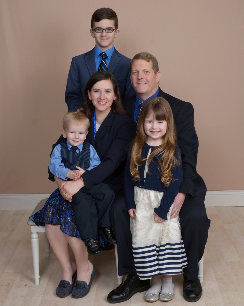 Pastor Timothy & April Benefield and family