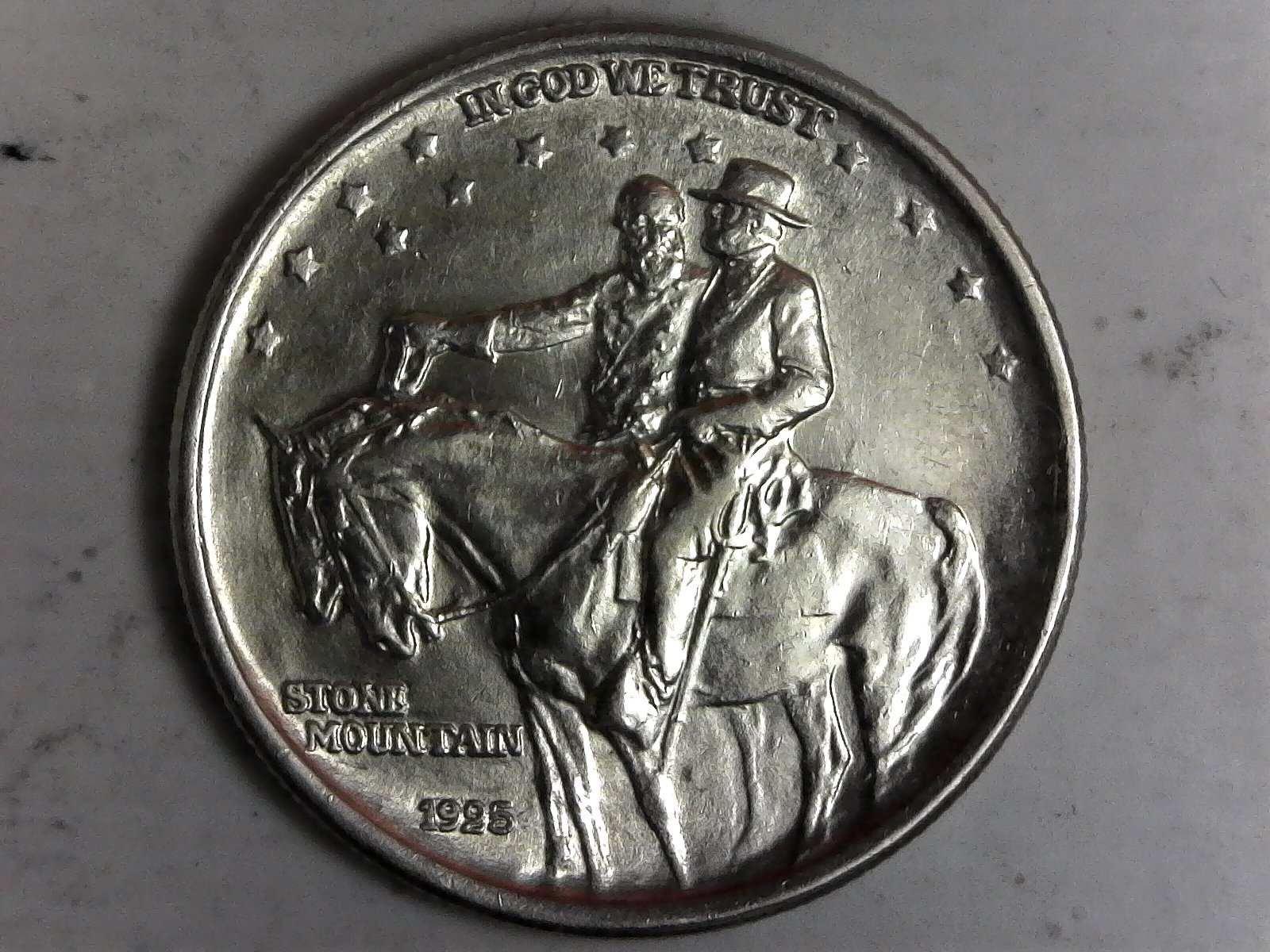 Click on Commerative Half Dollar for Online Inventory