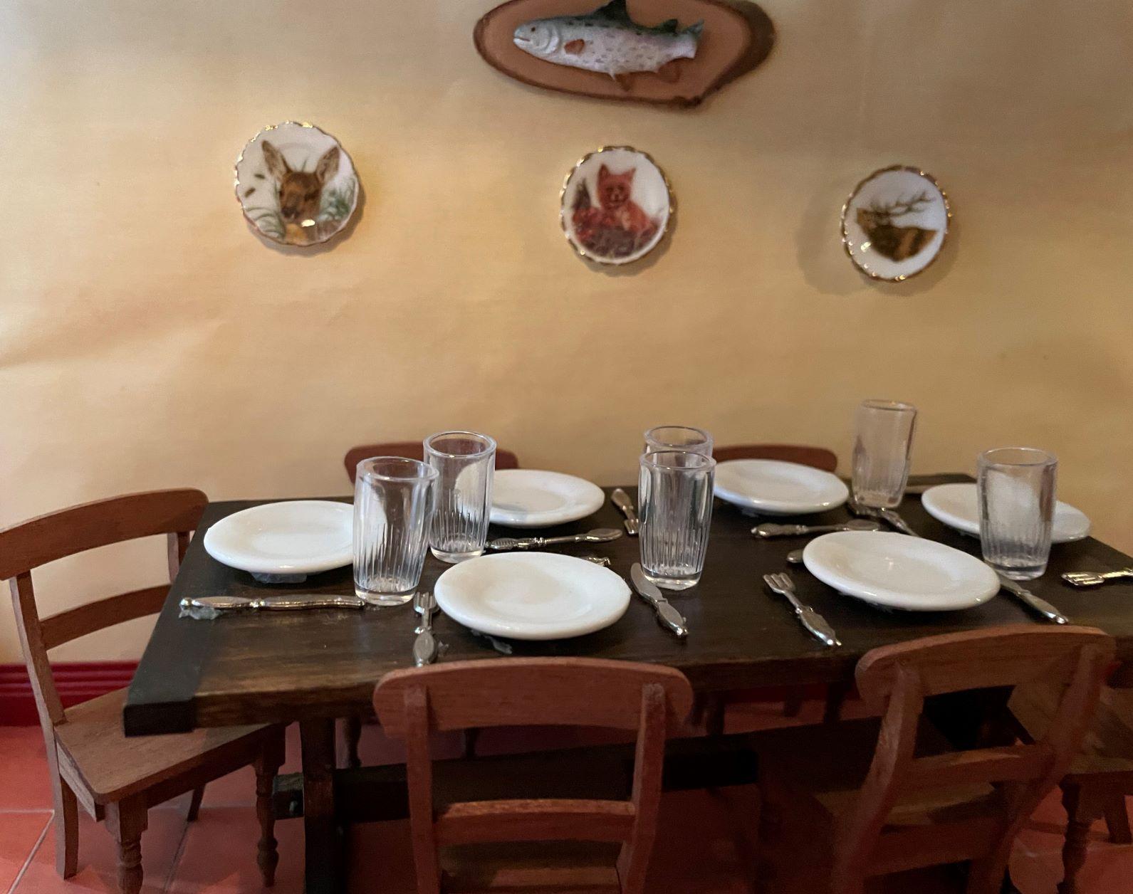 Servants' Dining Table