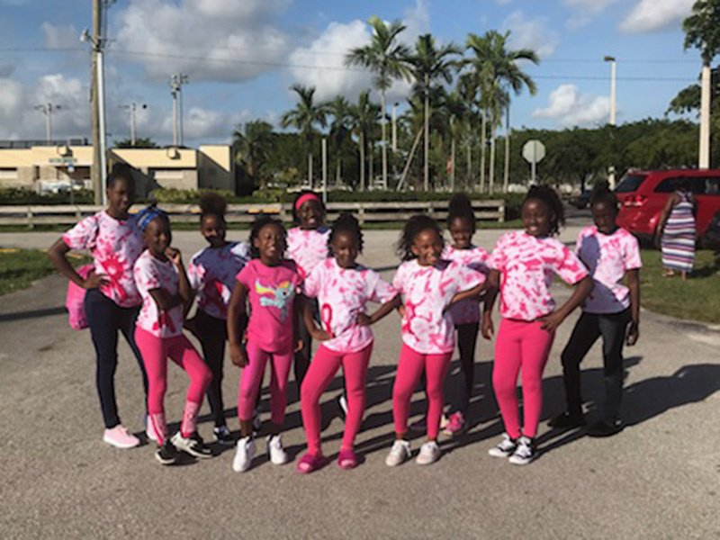 Mitey Mites Observing Breast Cancer Awareness