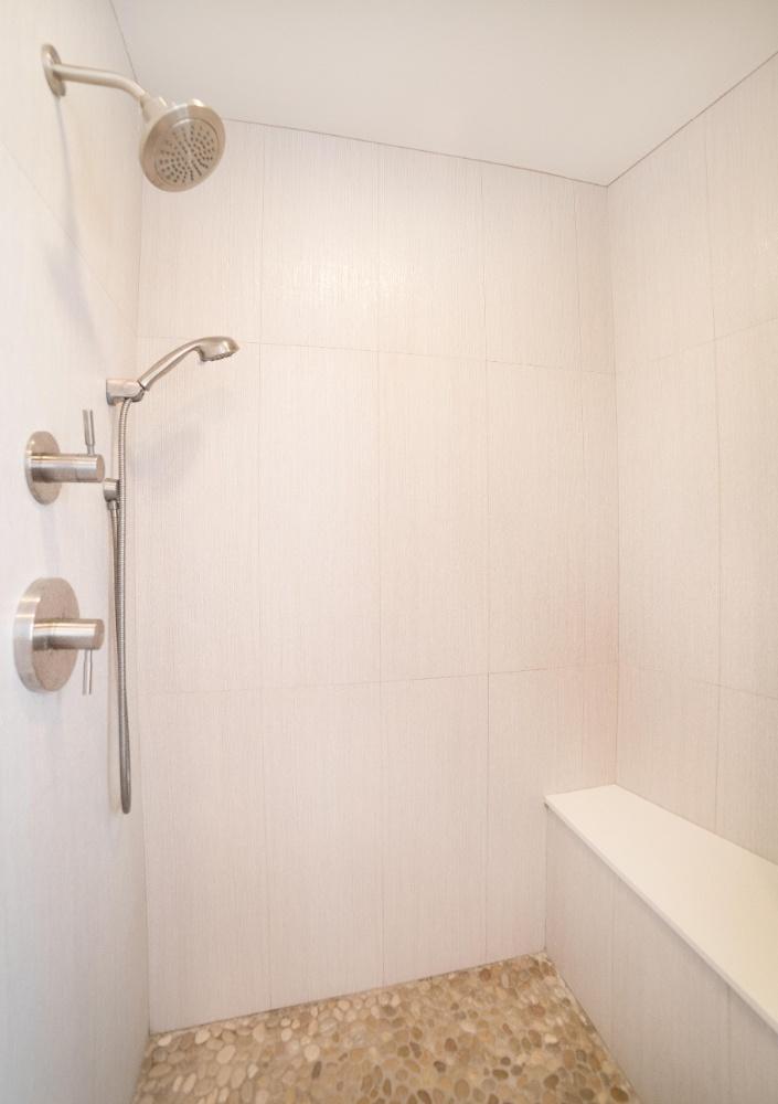 Hermosa Beach Apartment Shower
