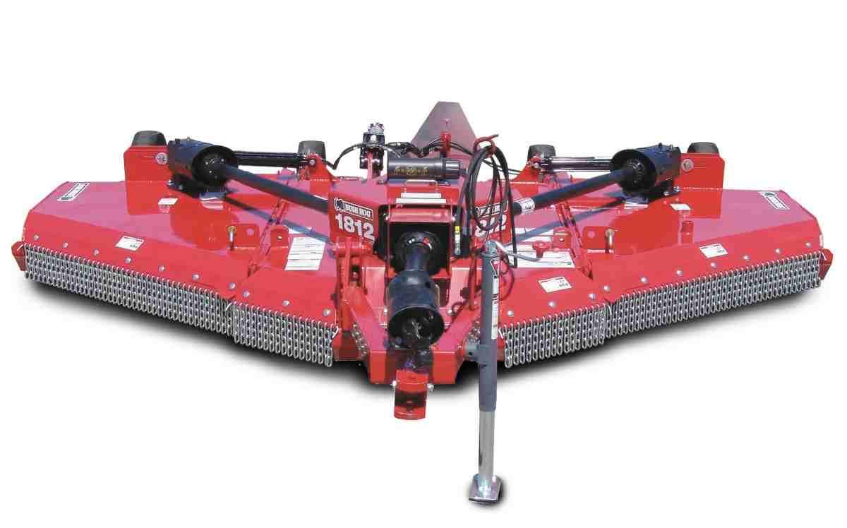Bush Hog 12ft Flex Wing mower, Designed for 50-75hp.  Yea, WE STOCK IT.