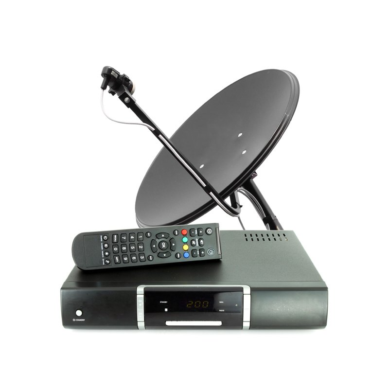 Satellite dish and receiver||||