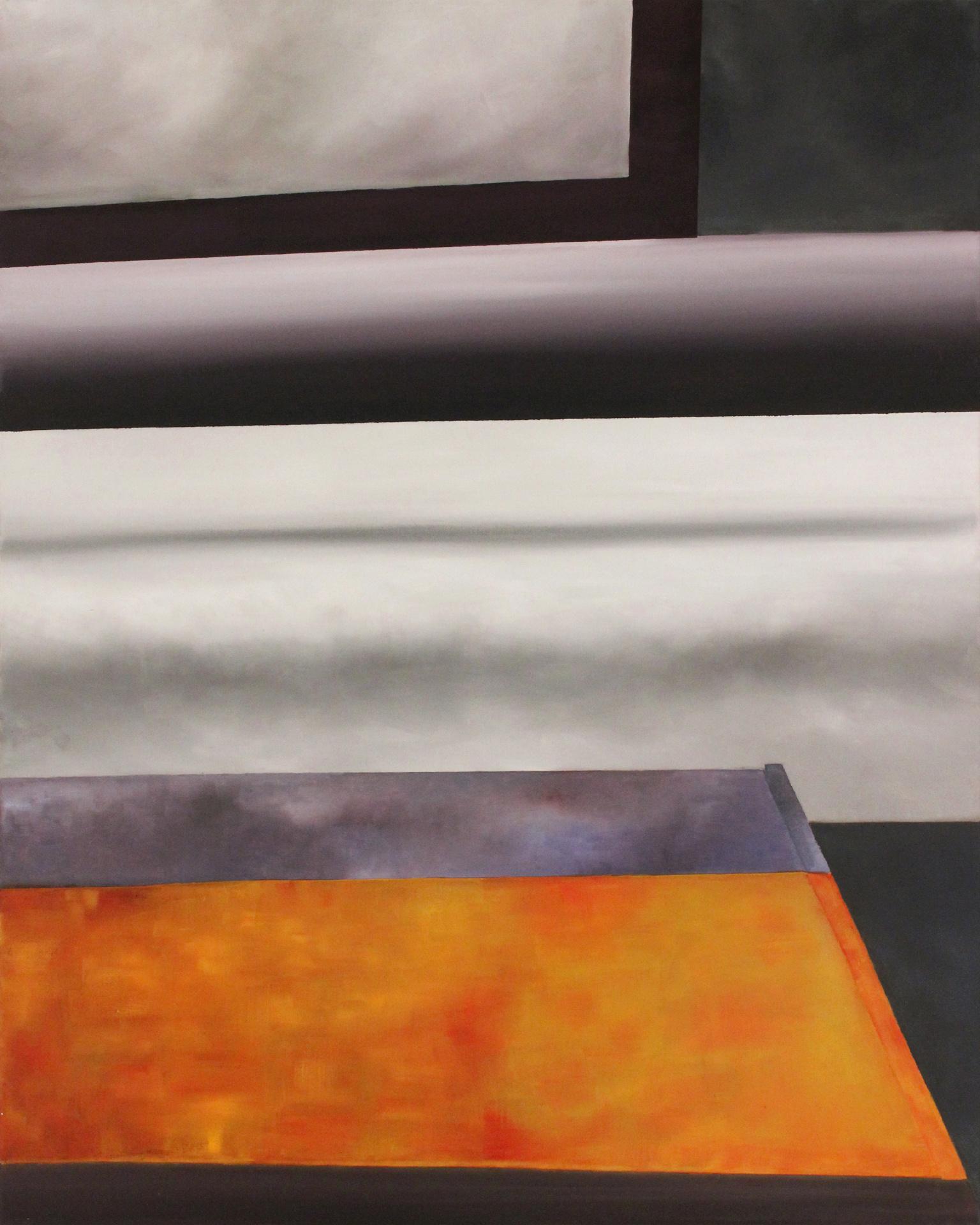 Pensando Linealmente Oleo sobre lienzo 76 x 61