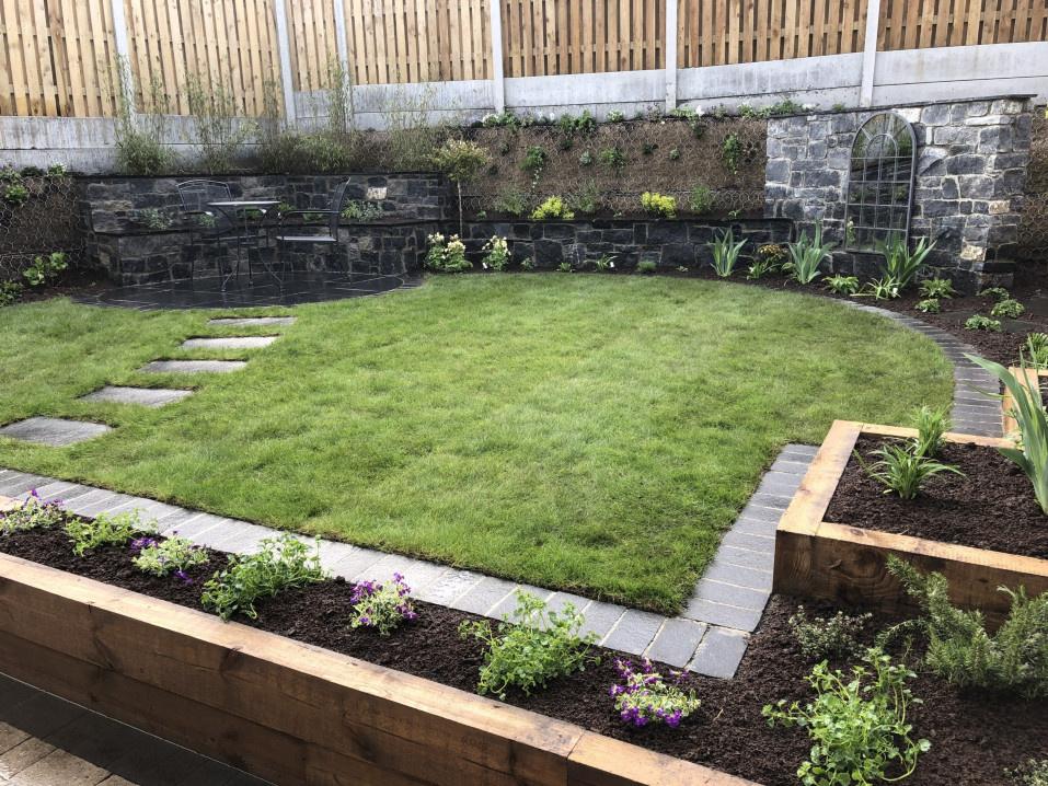 Semi Circular Lawn