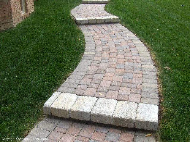Brick Paver Walkways