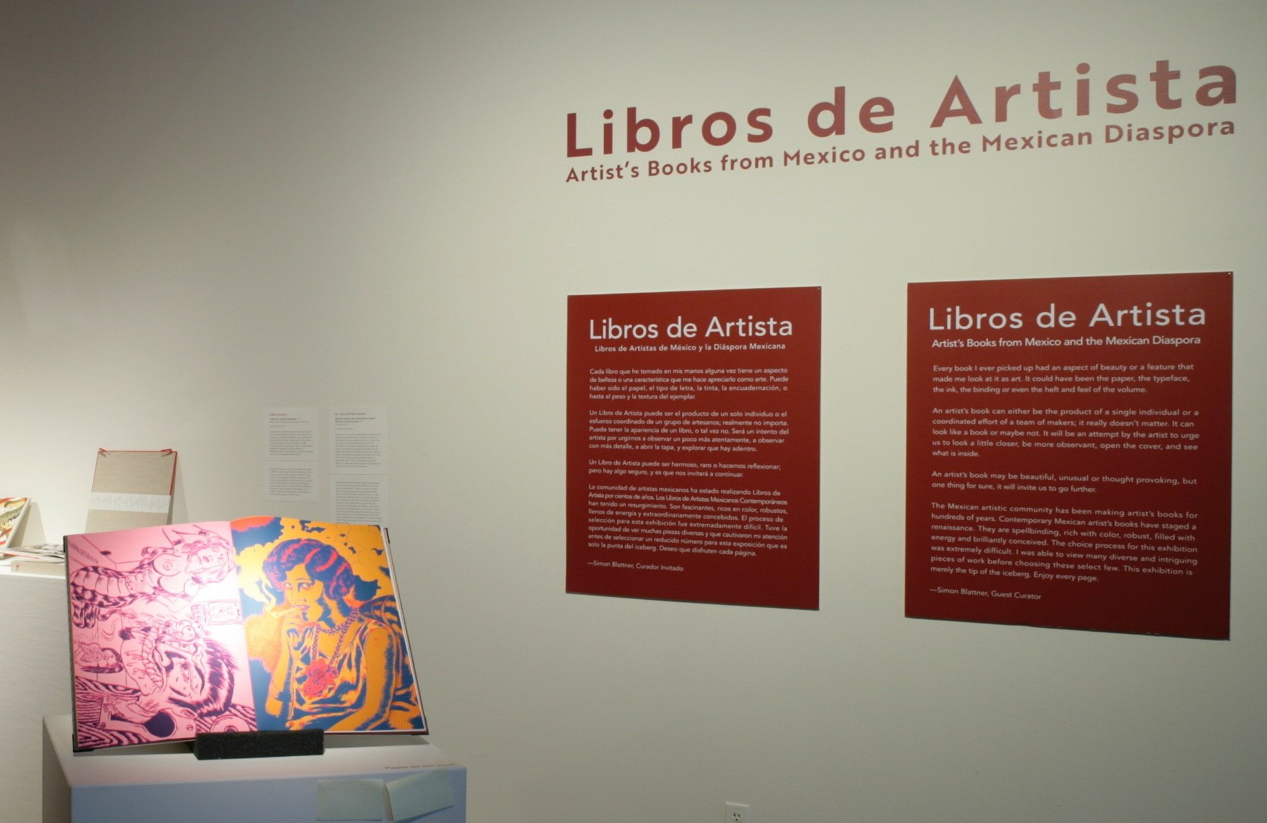 Libros de Artista Exhibition at the Sonoma Valley Museum of Art