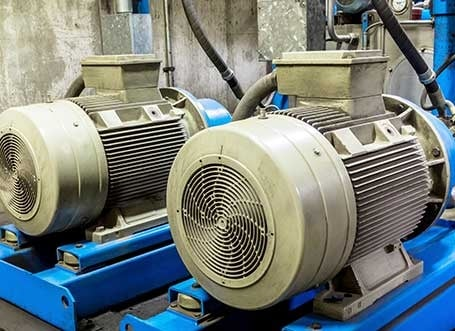 Motor With Pump Industry