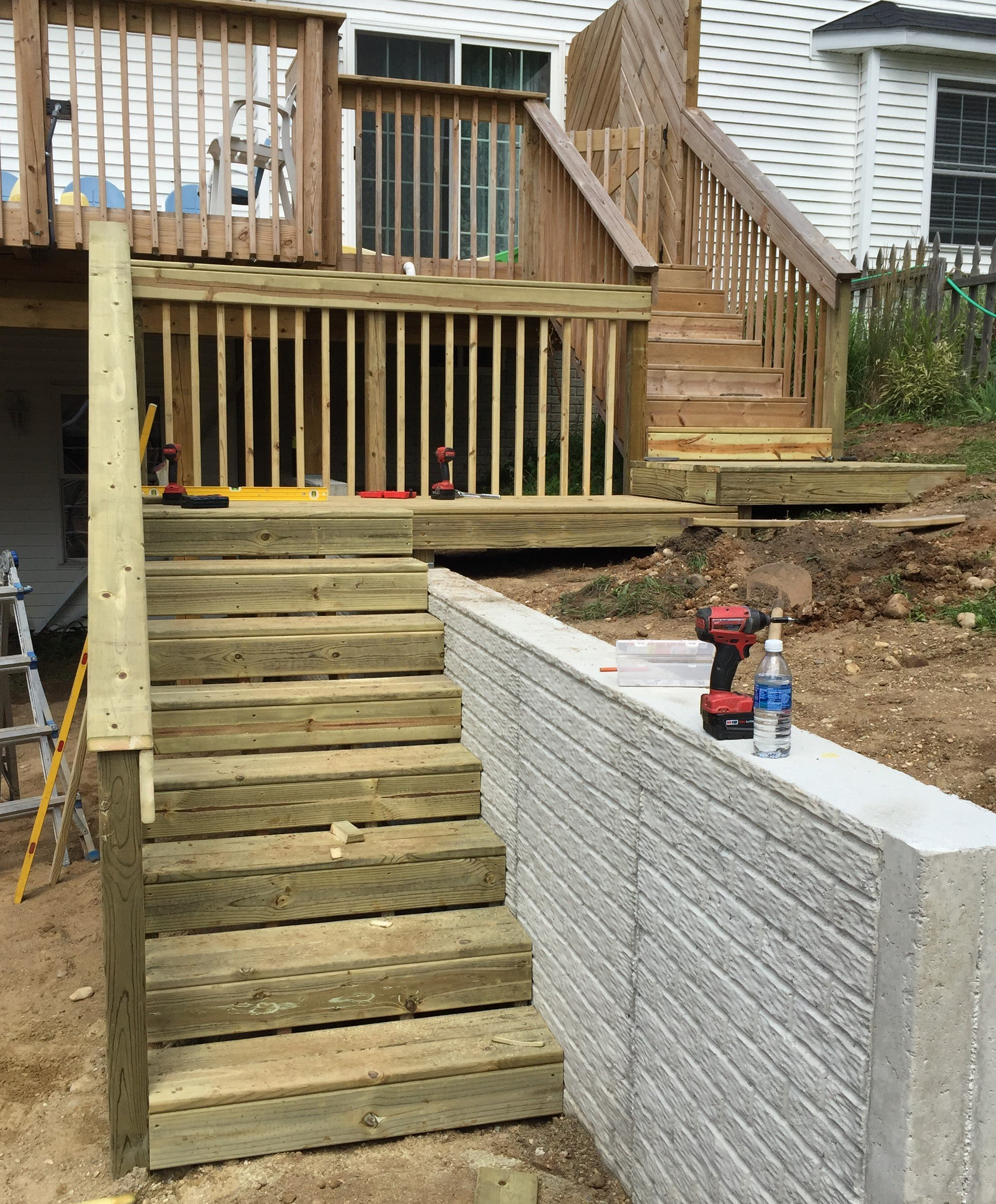 Deck Stairs After