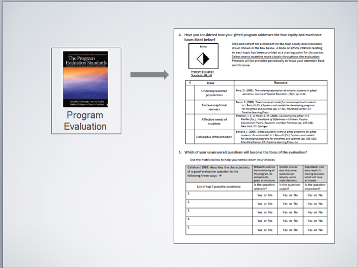 Program Evaluation Standards Adopted by American Evaluation Association