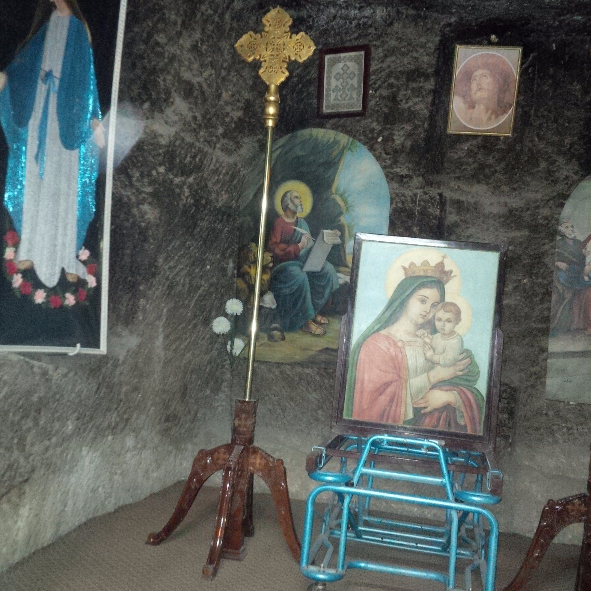 Small Cave wher the Holy Family hid out
