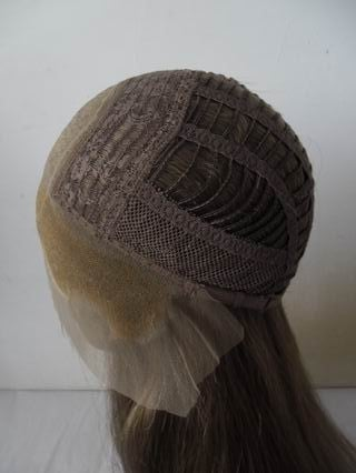 Lace Front Cap With Silk Top And Weft Back